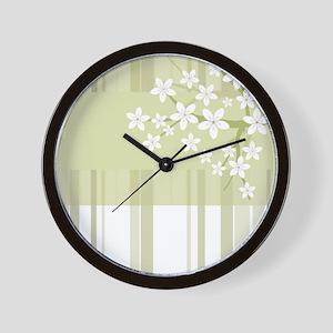 Sakura Japanese Cherry Tree Floral Patt Wall Clock