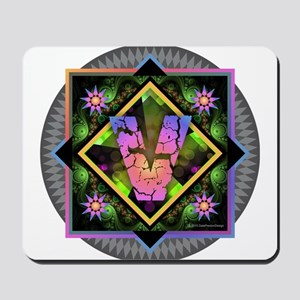 Bold Beautiful V Mousepad