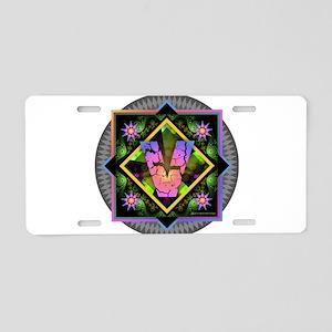 Bold Beautiful V Aluminum License Plate