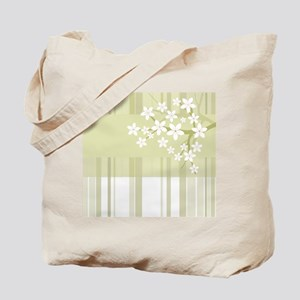 Sakura Japanese Cherry Tree Floral Patter Tote Bag