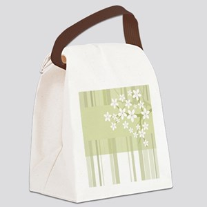 Sakura Japanese Cherry Tree Flora Canvas Lunch Bag