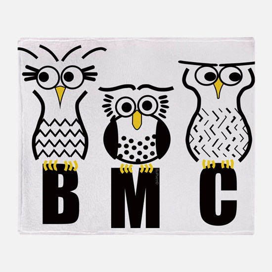 Cute Birdwatching Throw Blanket