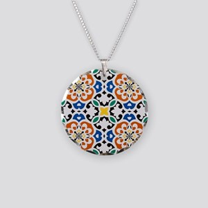 Morocco Necklace Circle Charm