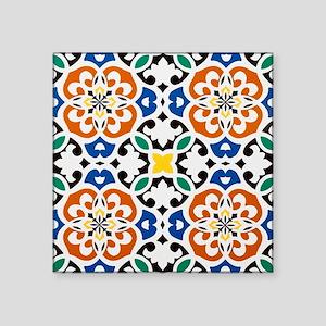 """Morocco Square Sticker 3"""" x 3"""""""