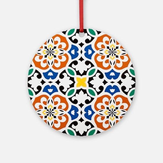 Morocco Round Ornament