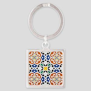 Morocco Square Keychain