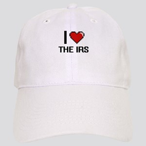 I love The Irs digital design Cap