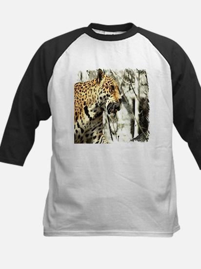 nature wild safari leopard Baseball Jersey