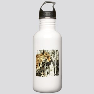 nature wild safari leo Stainless Water Bottle 1.0L