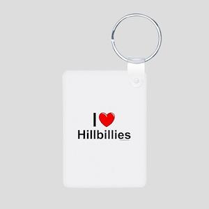 Hillbillies Aluminum Photo Keychain