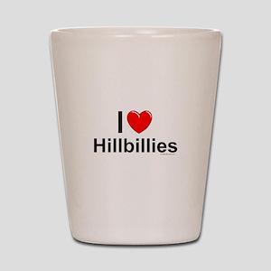 Hillbillies Shot Glass