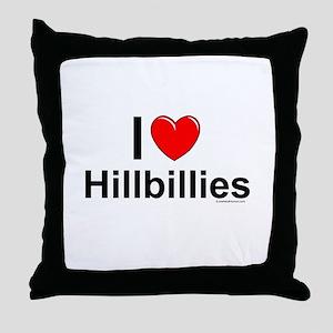 Hillbillies Throw Pillow