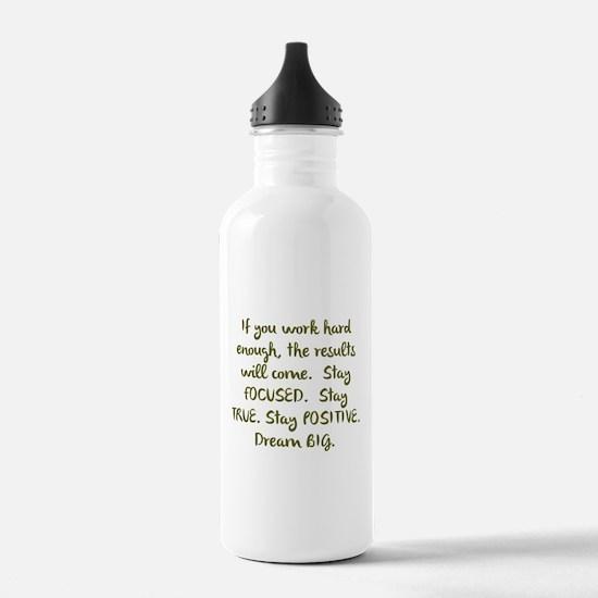 Eye On The Prize Dream BIG Design Water Bottle