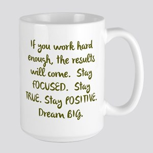 Eye On The Prize Dream BIG Design Mugs