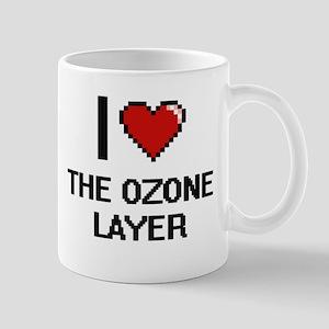 I love The Ozone Layer digital design Mugs