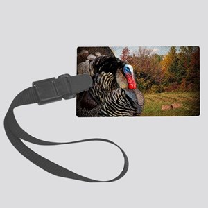 autumn landscape country turkey Large Luggage Tag