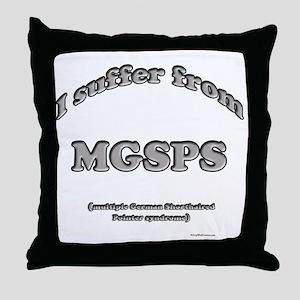GSP Syndrome Throw Pillow