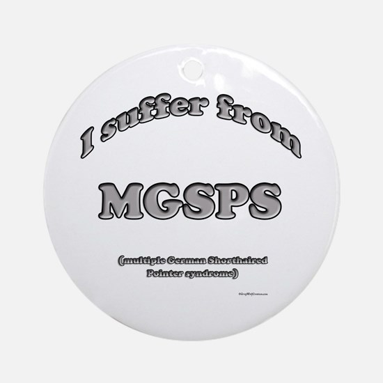 GSP Syndrome Ornament (Round)