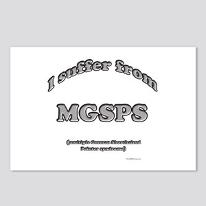 GSP Syndrome Postcards (Package of 8)