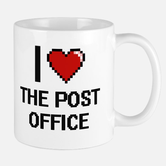 I love The Post Office digital design Mugs