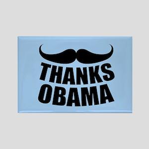 Thanks Obama Rectangle Magnet