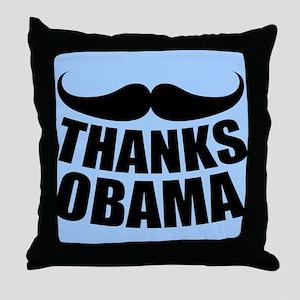 Thanks Obama Throw Pillow