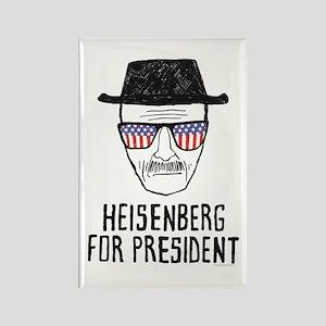 Heisenberg for President Rectangle Magnet