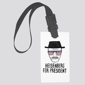 Heisenberg for President Large Luggage Tag