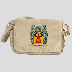 Campus Coat of Arms - Family Crest Messenger Bag