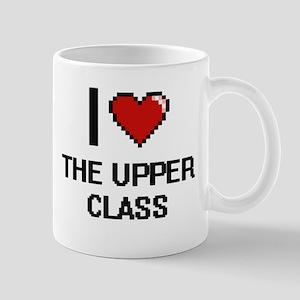 I love The Upper Class digital design Mugs