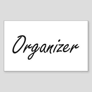 Organizer Artistic Job Design Sticker