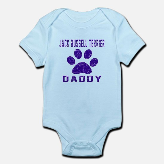 Jack Russell Terrier Daddy Designs Infant Bodysuit