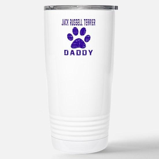 Jack Russell Terrier Da Stainless Steel Travel Mug