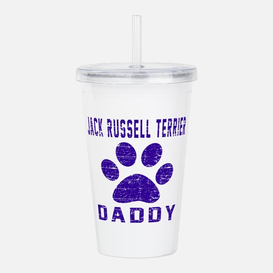 Jack Russell Terrier D Acrylic Double-wall Tumbler