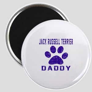 Jack Russell Terrier Daddy Designs Magnet