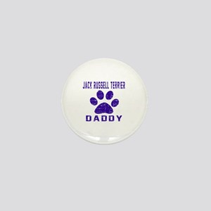 Jack Russell Terrier Daddy Designs Mini Button