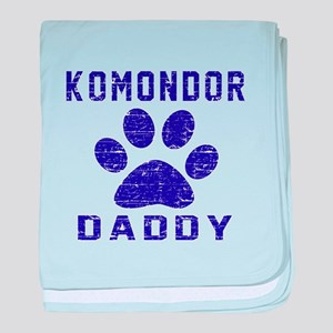 Komondor Daddy Designs baby blanket