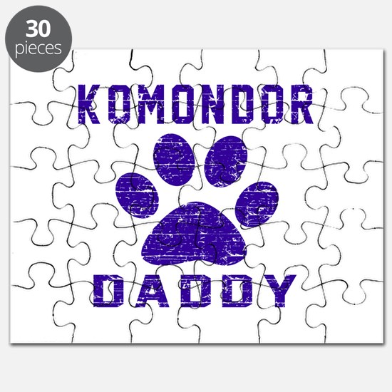 Komondor Daddy Designs Puzzle