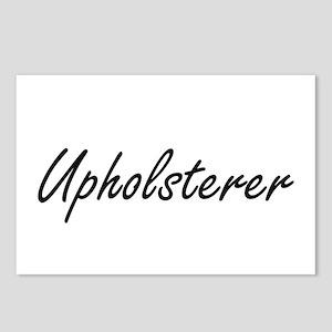 Upholsterer Artistic Job Postcards (Package of 8)