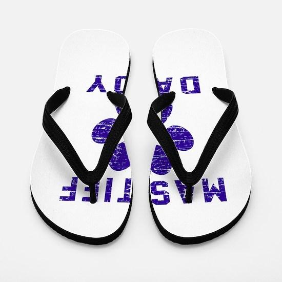 Mastiff Daddy Designs Flip Flops