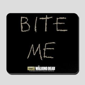 The Walking Dead Bite Me Mousepad