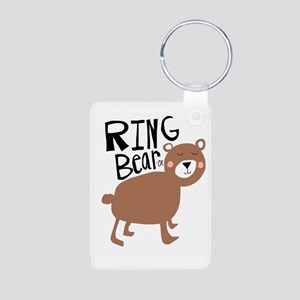 ring bear-er Aluminum Photo Keychain