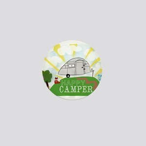 Happy Camper Mini Button