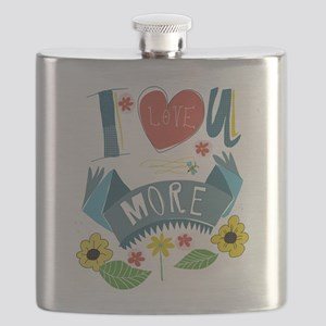 I love you more Flask