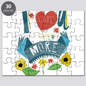 I love you more Puzzle