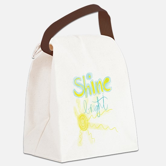Shine Bright Canvas Lunch Bag
