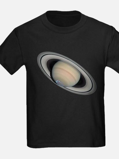 Saturn's Aurora Borealis T-Shirt