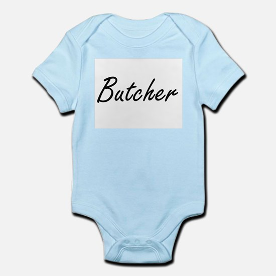Butcher Artistic Job Design Body Suit