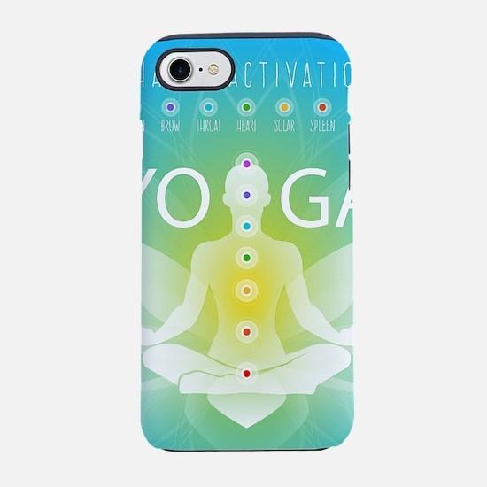 Yoga Chakra Activation iPhone 8/7 Tough Case