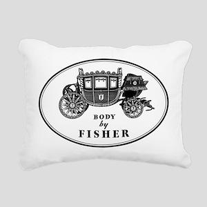 Miscellaneous Logo Rectangular Canvas Pillow
